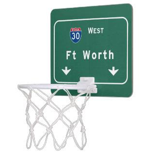 Fort Worth Texas tx Interstate Highway Freeway : Mini Basketball Hoop