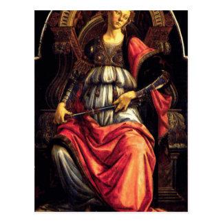 Fortitude by Sandro Botticelli Postcard