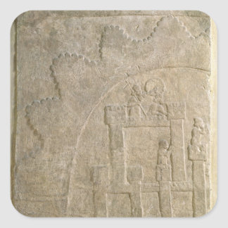 Fortress under Siege, from Nimrud, Iraq Square Sticker