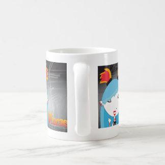 Fortune Girls Flame Basic White Mug