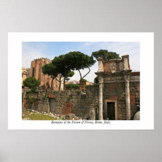 Forum of Nerva Poster