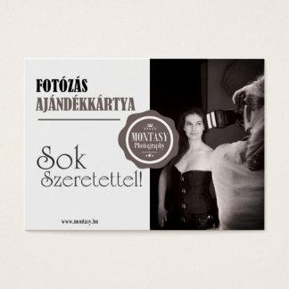 Fotozas Business Card
