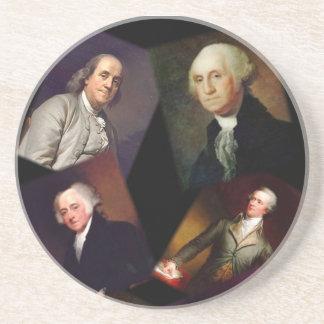 Founding Fathers Unique Coasters