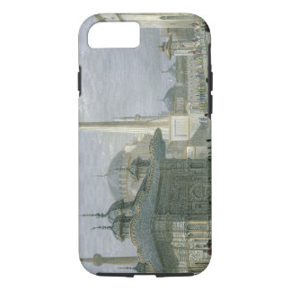 Fountain and Square of St. Sophia, Istanbul, engra iPhone 7 Case