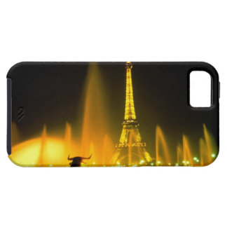 Fountain at the world famous Eiffel Tower Paris iPhone 5 Covers