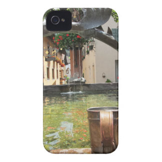 Fountain, Castelrotto (Kastelruth), Italy iPhone 4 Case-Mate Cases