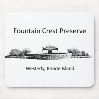 Fountain Crest Preserve Mouse Pad