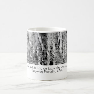 Fountain jets coffee mug
