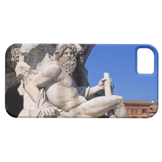 Fountain of Four Rivers on Piazza Navona. Rome, iPhone 5 Covers