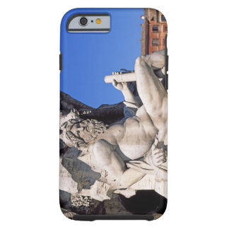 Fountain of Four Rivers on Piazza Navona. Rome, Tough iPhone 6 Case