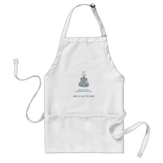 Fountain of Knowledge Adult Apron
