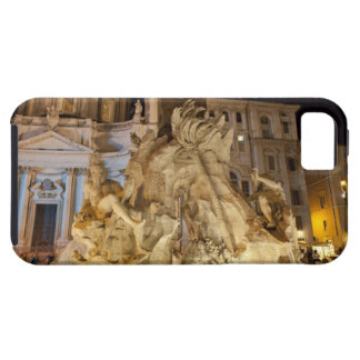 Fountain of the 4 Rivers, Piazza Navona, Rome iPhone 5 Case
