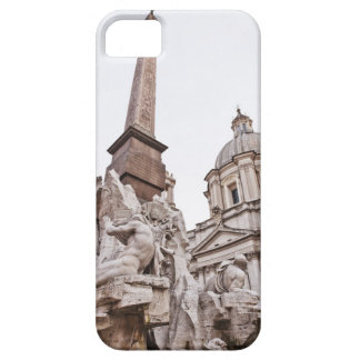 Fountain of the Four Rivers and Obelisk iPhone 5 Cases