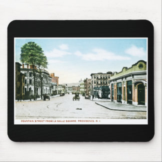 Fountain Street, Providence, Rhode Island Mouse Pad