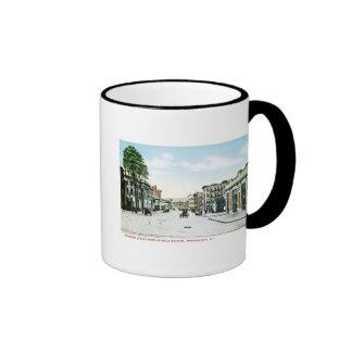 Fountain Street, Providence, Rhode Island Coffee Mugs
