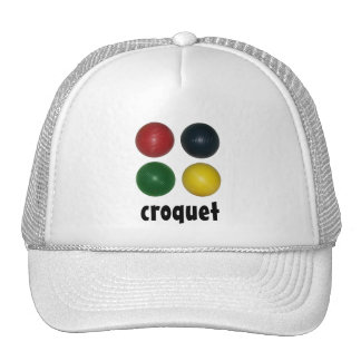 Four Croquet Balls Cap