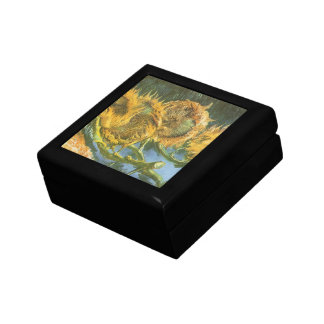 Four Cut Sunflowers by Vincent van Gogh, Fine Art Gift Box