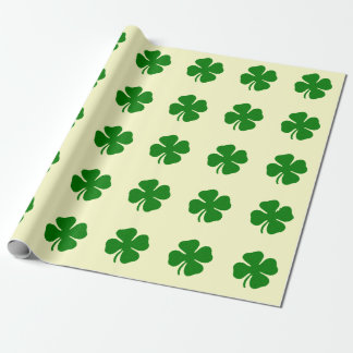 Four Leaf Clover Wrapping Paper