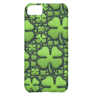 Four Leaf Clovers iPhone 5C Case