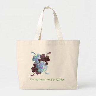 Four Leaf Fashion Beach Bag