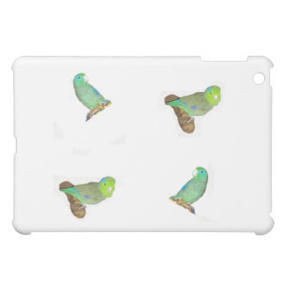 Four parrotlets case for the iPad mini