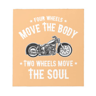 Four Wheels 1016 Notepad
