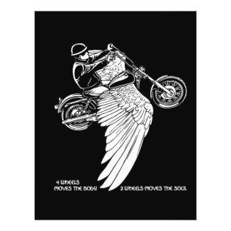 Four Wheels II 21.5 Cm X 28 Cm Flyer