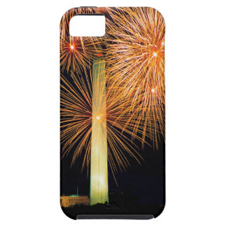 Fourth of July, Firework Display, Skyline iPhone 5 Cover