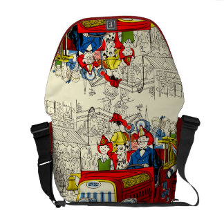 Fourth of July Parade Courier Bags