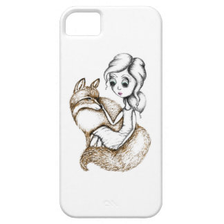 'Fox Hug' Illustrated iphone Case