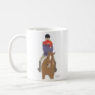 Fox Hunt Breakfast Classic White Coffee Mug