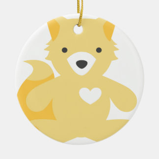 Foxy Baby Christmas Ornament