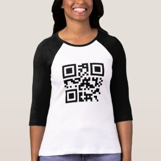 """Foxy Lady"" in QR code T-Shirt"