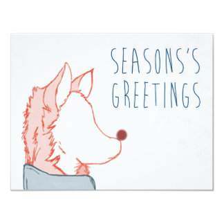 Foxy Series, Season's Greetings Card