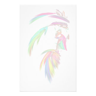 Fractal - Indian Chief Stationery