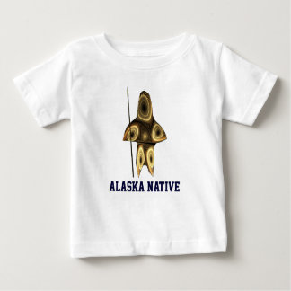 Fractal Inuit Hunter Baby T-Shirt