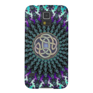 Fractal Mandala Grunge Celtic Knot Galaxy S5 Case