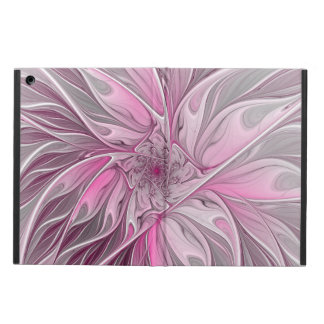 Fractal Pink Flower Dream, floral Fantasy Pattern Case For iPad Air