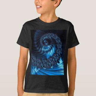 Fractal spiral - abstract computer-generated image T-Shirt