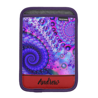 Fractal Spiral iPad Mini Sleeve