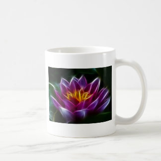 Fractalius Water Lilly Coffee Mug