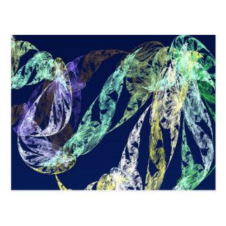 Fractals - Sea Serpent Postcard