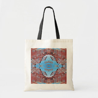 Fractured Barn - Weird Abstract Tote Bag