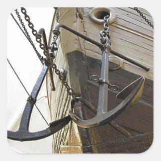 Fram, the ship used by the polar explorer Nansen Square Sticker