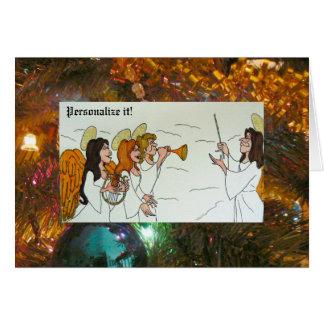Framed Herald Angels Greeting Card