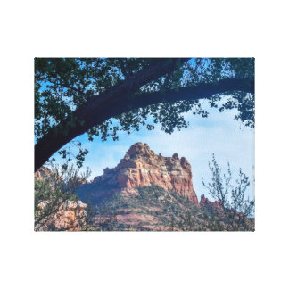 Framed in Sedona Canvas Print