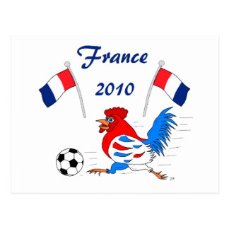 France 2010 postcard