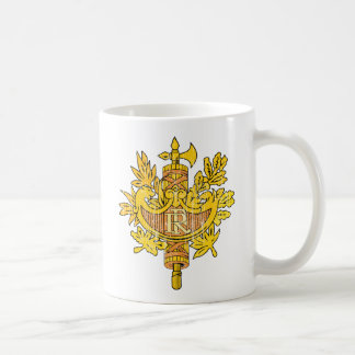 France Coat Of Arms Coffee Mug