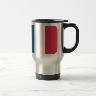 France Flag - Twitter emoji Stainless Steel Travel Mug