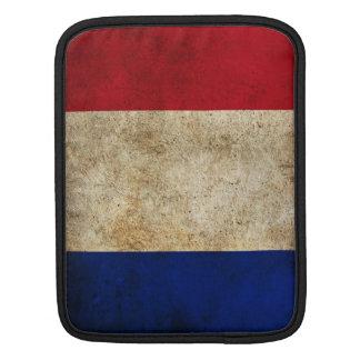 France Grunge Flag iPad / iPad 2 Sleeve Cover